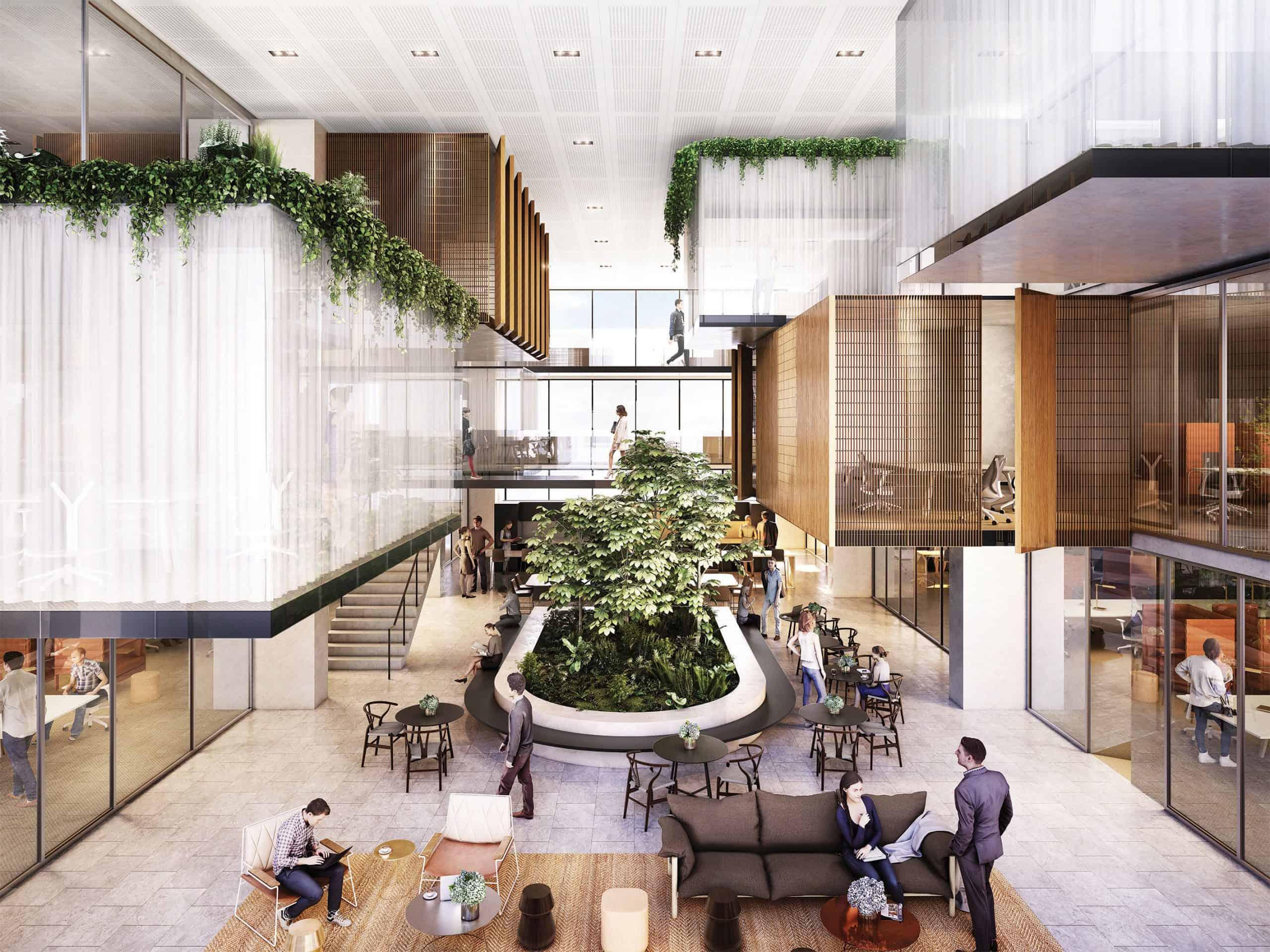 Midtown Centre Building Interior 1